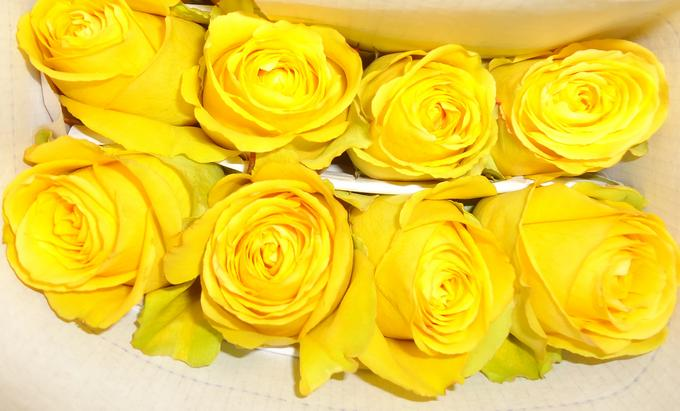 yellow roses wedding flowers